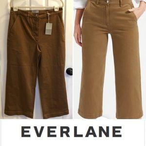 EVERLANE NWT wide leg crop pants